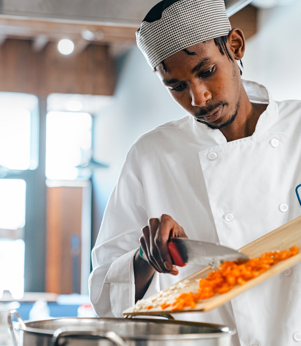 Teach someone to cook, and they can feed and support themselves and others.